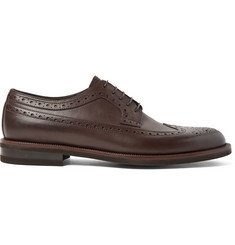Ermenegildo Zegna Flex Leather Longwing Brogues