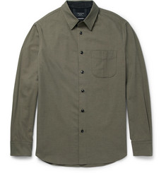 rag & bone Cotton and Wool-Blend Twill Shirt