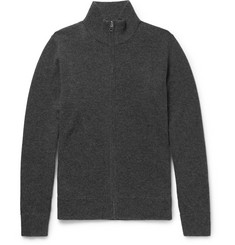 Rag & bone Nathan Wool and Cashmere-Blend Zip-Up Cardigan