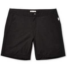 Onia Calder Long-Length Cotton-Blend Shell Swim Shorts