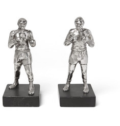 Foundwell Vintage 1974 Sterling Silver Boxing Figures