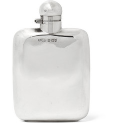 Foundwell Vintage - 1946 Silver Hip Flask