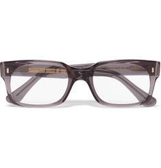 Cutler and Gross - 2008 Square-Frame Acetate Optical Glasses