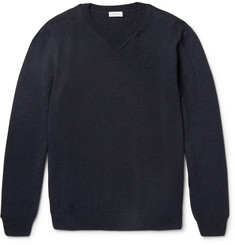 Sunspel Merino Wool and Cotton-Blend Sweater