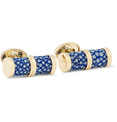 Trianon 18-Karat Gold Stingray Cufflinks