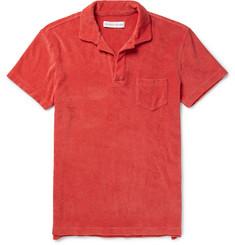 Orlebar Brown - Slim-Fit Cotton-Terry Polo Shirt