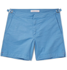 Orlebar Brown Bulldog Stretch-Cotton Twill Shorts
