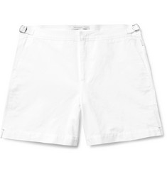 Orlebar Brown Bulldog Slim-Fit Linen and Cotton-Blend Shorts