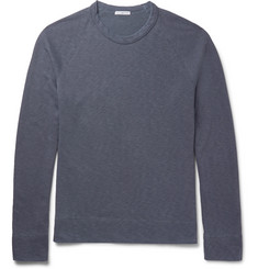 James Perse Mélange Loopback Supima Cotton-Jersey Sweatshirt