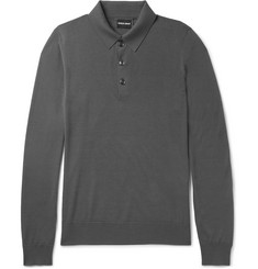 Giorgio Armani - Virgin Wool Polo Shirt