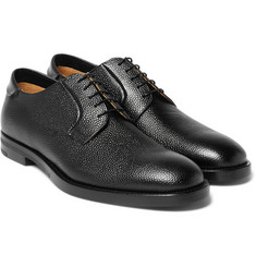 McCaffrey Pebble-Grain Leather Derby Shoes