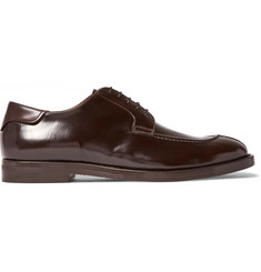 McCaffrey Adler Leather Derby Shoes