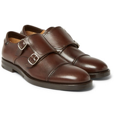McCaffrey - Leather Monk-Strap Shoes