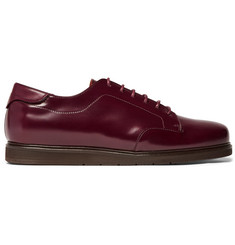 McCaffrey Sportivo Polished-Leather Derby Shoes