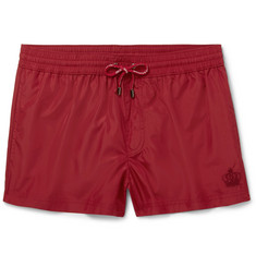 Dolce & Gabbana Slim-Fit Short-Length Swim Shorts