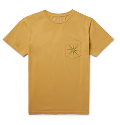 Mollusk Sun Up Printed Cotton-Jersey T-Shirt