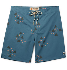 Mollusk Rocky Long-Length Cotton-Blend Swim Shorts