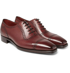Gaziano & Girling - St James II Polished-Leather Wingtip Brogues