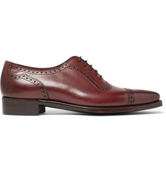 Gaziano & Girling St James II Polished-Leather Wingtip Brogues