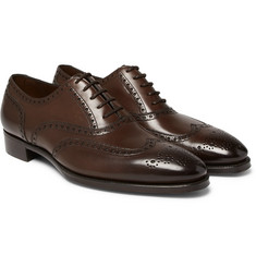 Gaziano & Girling - Rothschild Polished-Leather Wingtip Brogues