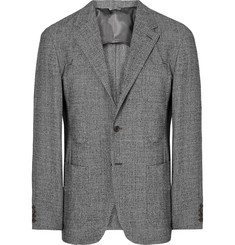 Camoshita Slim-Fit Puppytooth Wool Blazer