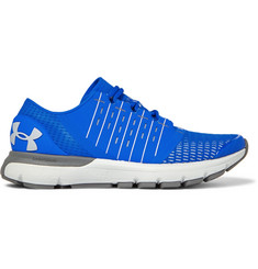 Under Armour - SpeedForm® Europa Rubber and Mesh Running Sneakers