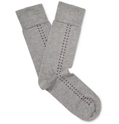 John Smedley - Holden Sea Island Cotton-Blend Socks