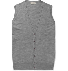 John Smedley Huntswood Wool Sweater Vest