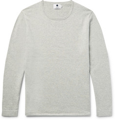 NN07 Tom Loopback Cotton and Wool-Blend Jersey Sweater