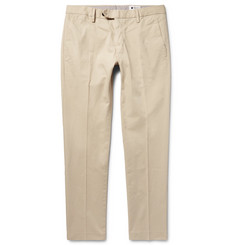 NN07 Theo Slim-Fit Stretch-Cotton Trousers