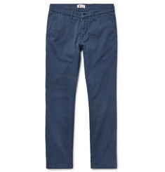 NN07 Marco Slim-Fit Garment-Dyed Stretch-Cotton Twill Chinos