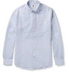 NN07 New Derek Button-Down Collar Cotton Shirt