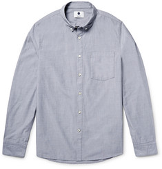 NN07 Falk Slim-Fit End-On-End Cotton Shirt