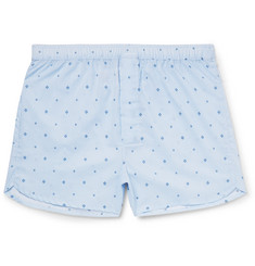 Derek Rose - Arlo Printed Cotton Boxer Shorts