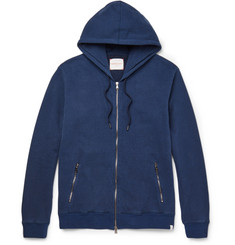 Derek Rose Devon Loopback Cotton-Jersey Zip-Up Hoodie
