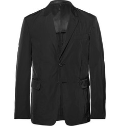 Prada Black Slim-Fit Shell Blazer