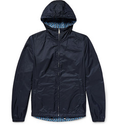 Prada Reversible Shell Hooded Jacket