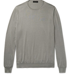 Prada - Cashmere and Silk-Blend Sweater