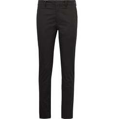 Prada Slim-Fit Stretch-Cotton Trousers