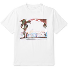 Prada - Slim-Fit Printed Cotton-Jersey T-Shirt