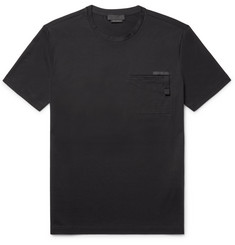 Prada Slim-Fit Stretch-Cotton Jersey T-Shirt