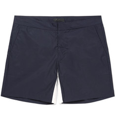 Prada - Short-Length Cotton-Blend Swim Shorts