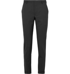 Prada Tapered Virgin Wool Trousers