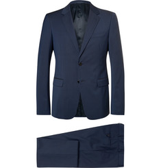 Prada - Blue Checked Virgin Wool Suit