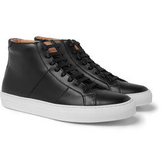 Greats - The Royale Leather High-Top Sneakers