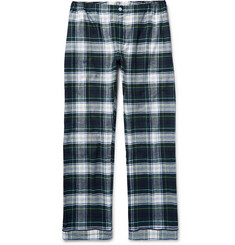 Sleepy Jones Marcel Checked Cotton-Flannel Pyjama Trousers