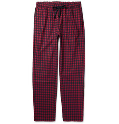 Sleepy Jones - Hoffman Checked Cotton-Flannel Pyjama Trousers