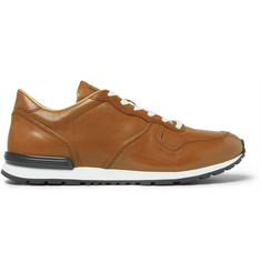 Tod's Panelled Leather Sneakers