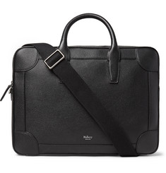 Mulberry Full-Grain Leather Briefcase