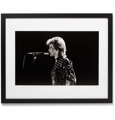 "Sonic Editions - Framed David Bowie Print, 16"" X 20"""